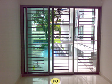 door grille design for aluminium  | 300 x 400